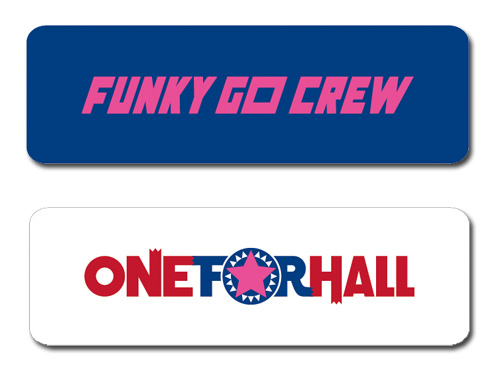 ONE FOR HALL TOUR 2015 FUNKY GO CREW ver.リストバンド